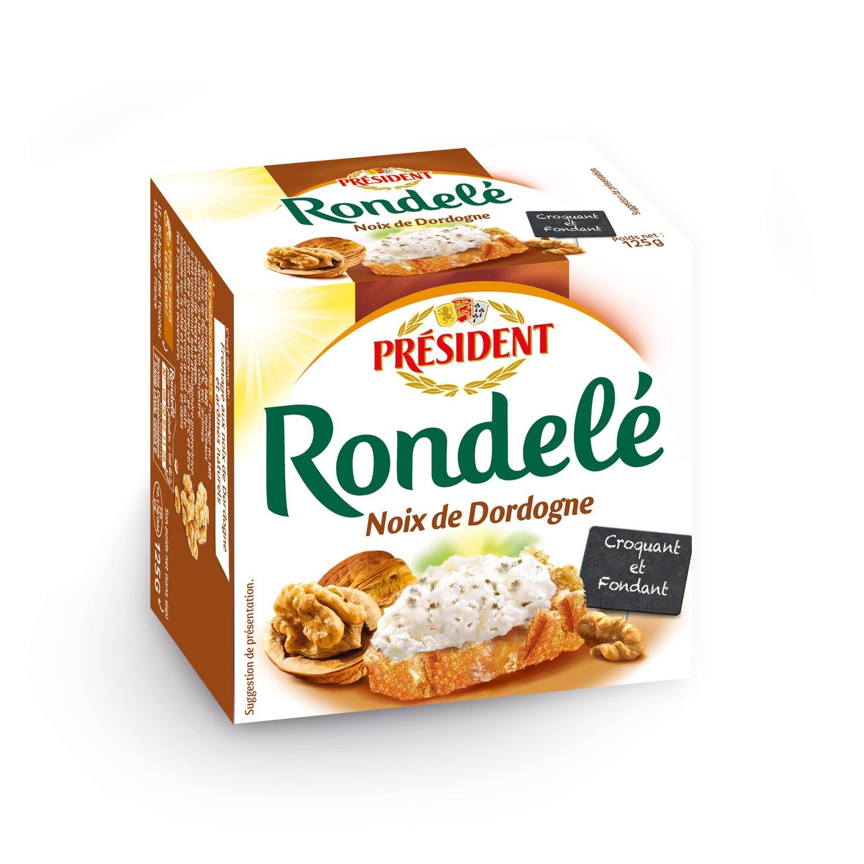 Rondelé aux noix de Dordogne, Président (125 g)