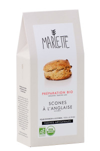 """Préparation """"Scones à l'anglaise"""" Bio, Marlette"""
