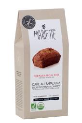 """Préparation """"Cake au rapadura"""" Bio & Sans Gluten, Marlette"""
