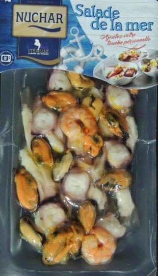 Salade de la mer cuite, Nuchar (150 g)