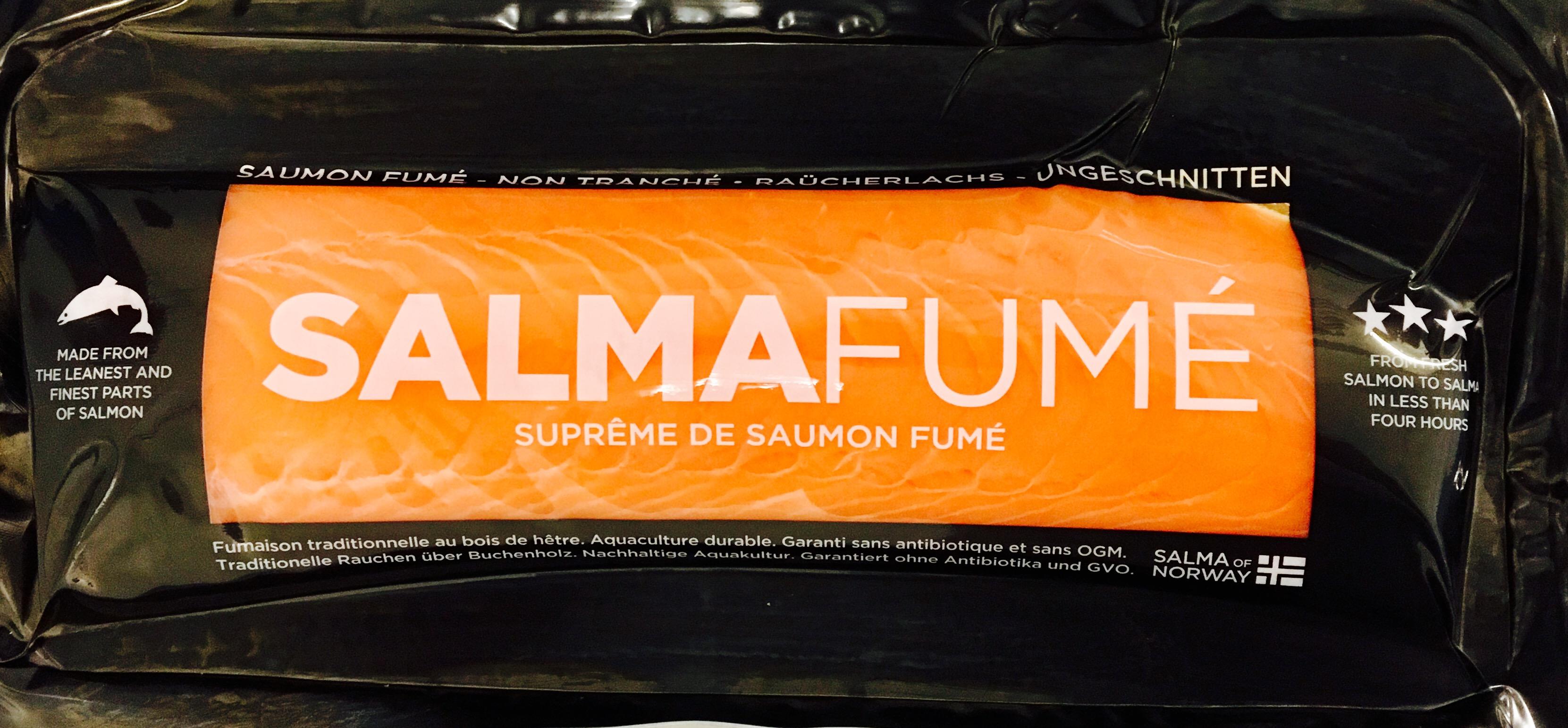 Suprême de saumon Salma fumé (450-500 g)