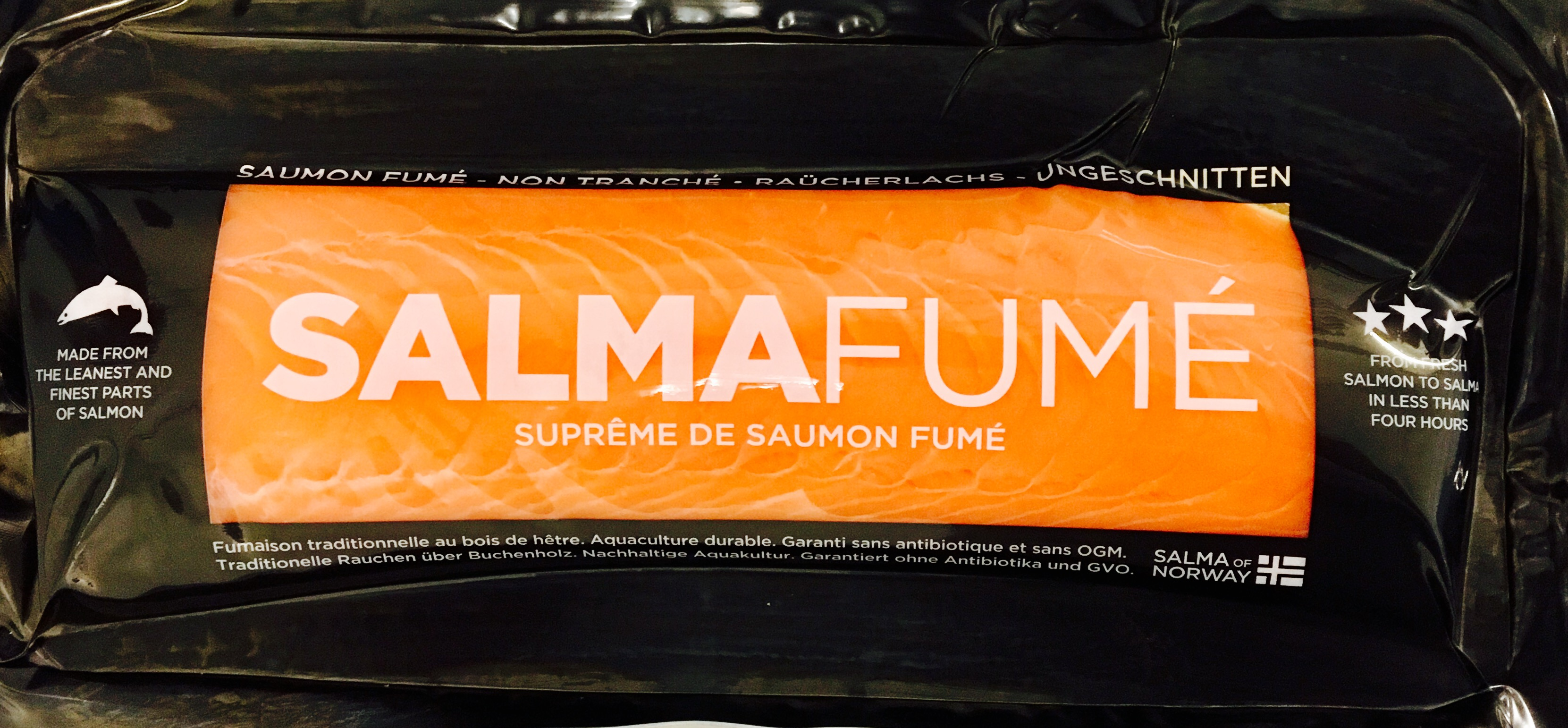 Suprême de saumon Salma fumé (400-450 g)