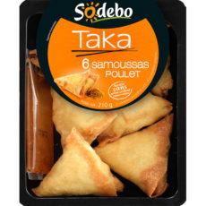 Samoussa Taka au poulet (x 6, 30 g)