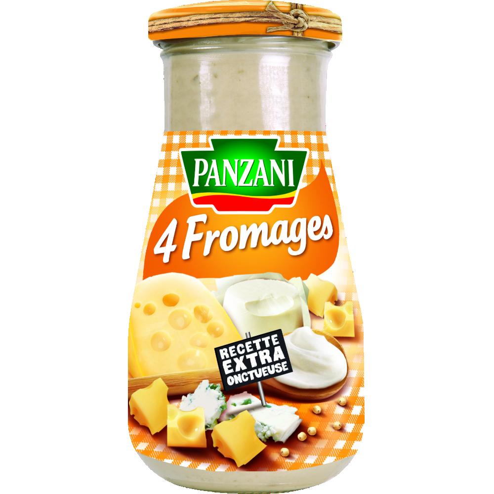Sauce 4 fromages, Panzani (370 g)