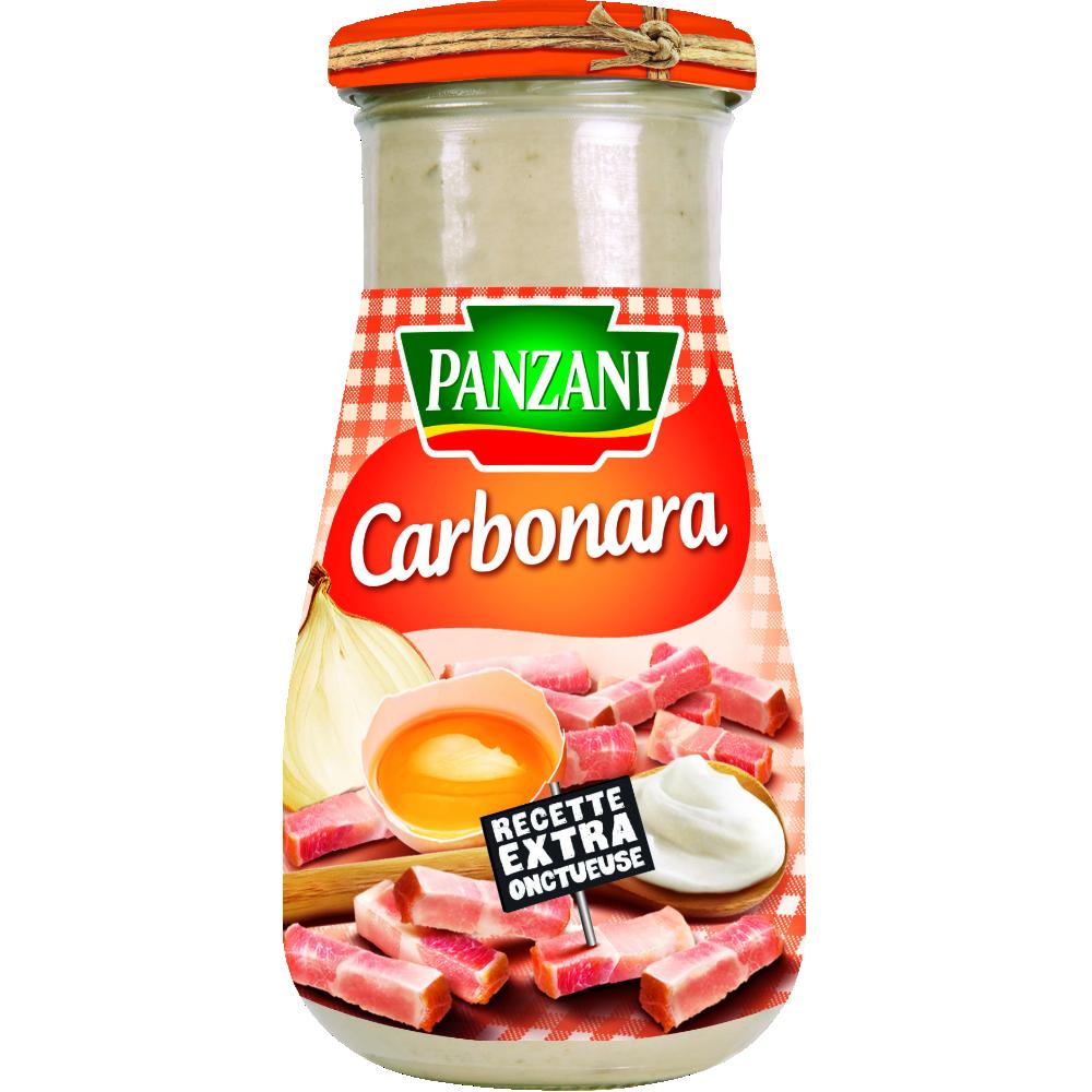 Sauce carbonara, Panzani (370 g)