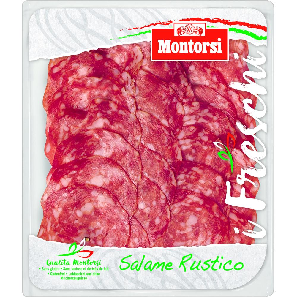 Saucisson salame rustico, Montorsi (8 tranches, 100 g)