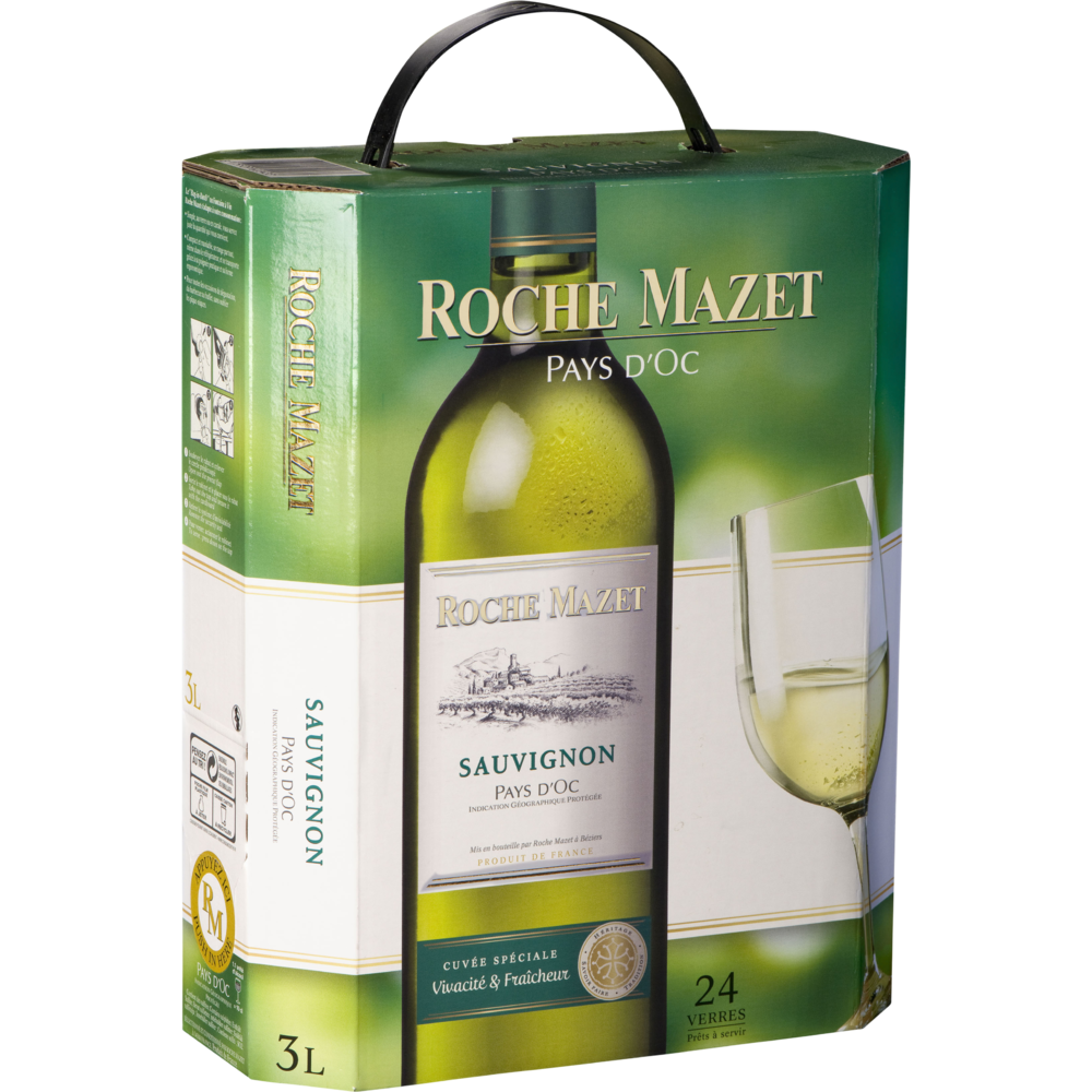 Sauvignon blanc, Roche Mazet (3 L)