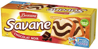 Savane L'Original chocolat noir, Brossard (310 g)