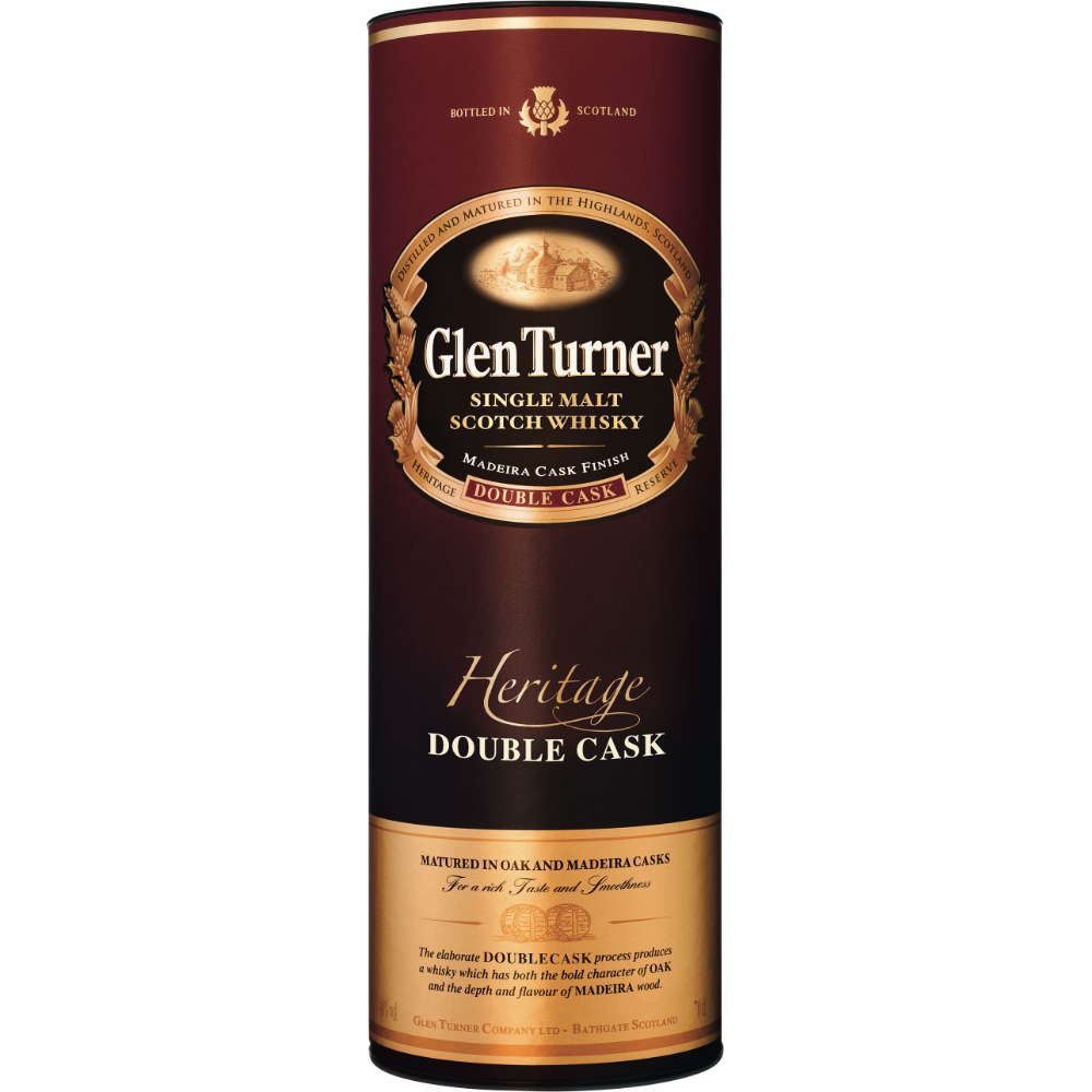 Scotch whisky single malt Heritage, Glen Turner (70 cl)