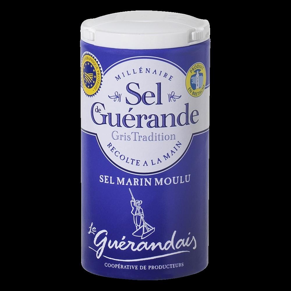 Sel marin moulu de tradition Guérande, Le Guérandais (125 g)