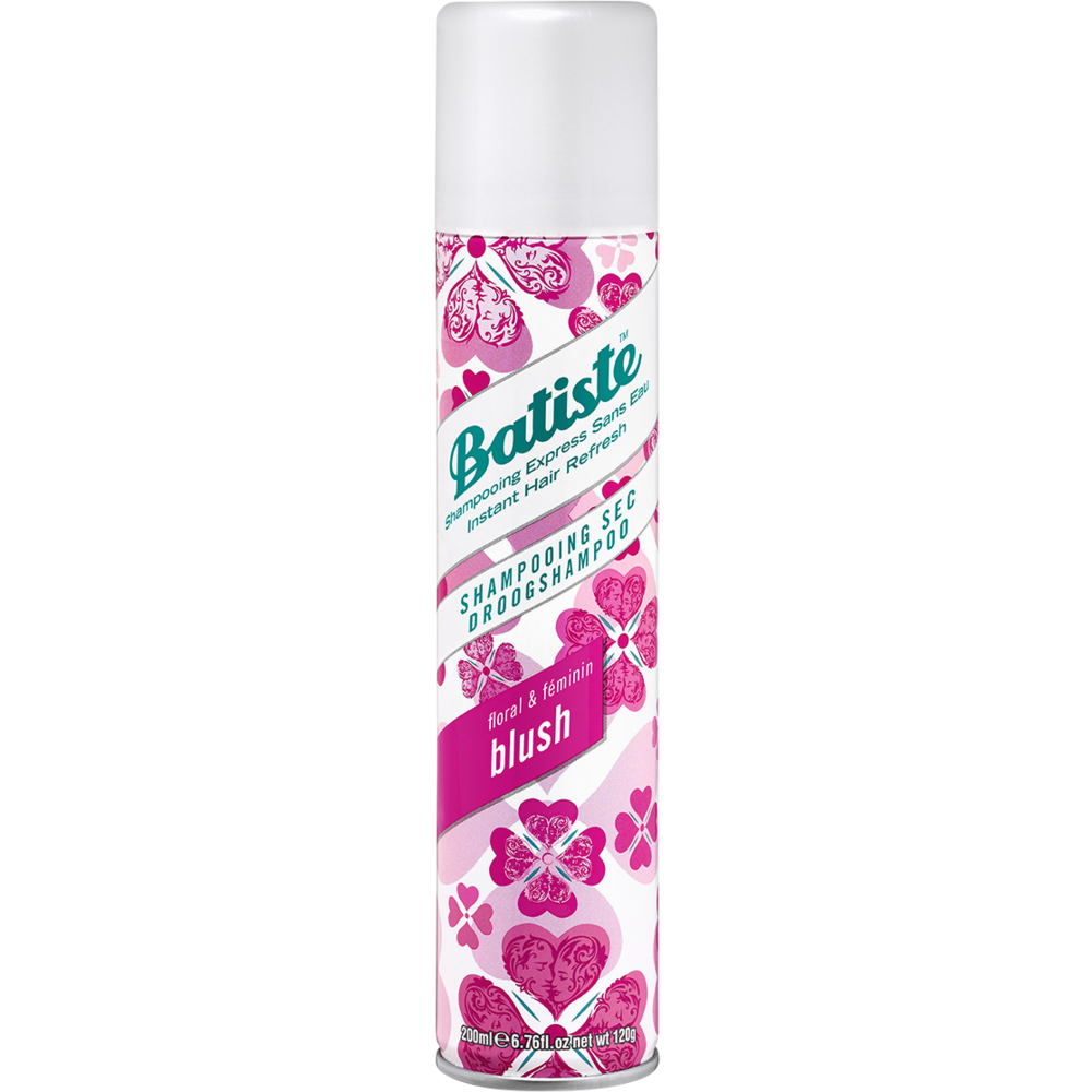 Shampoing sec spray blush, Batiste (200 ml)