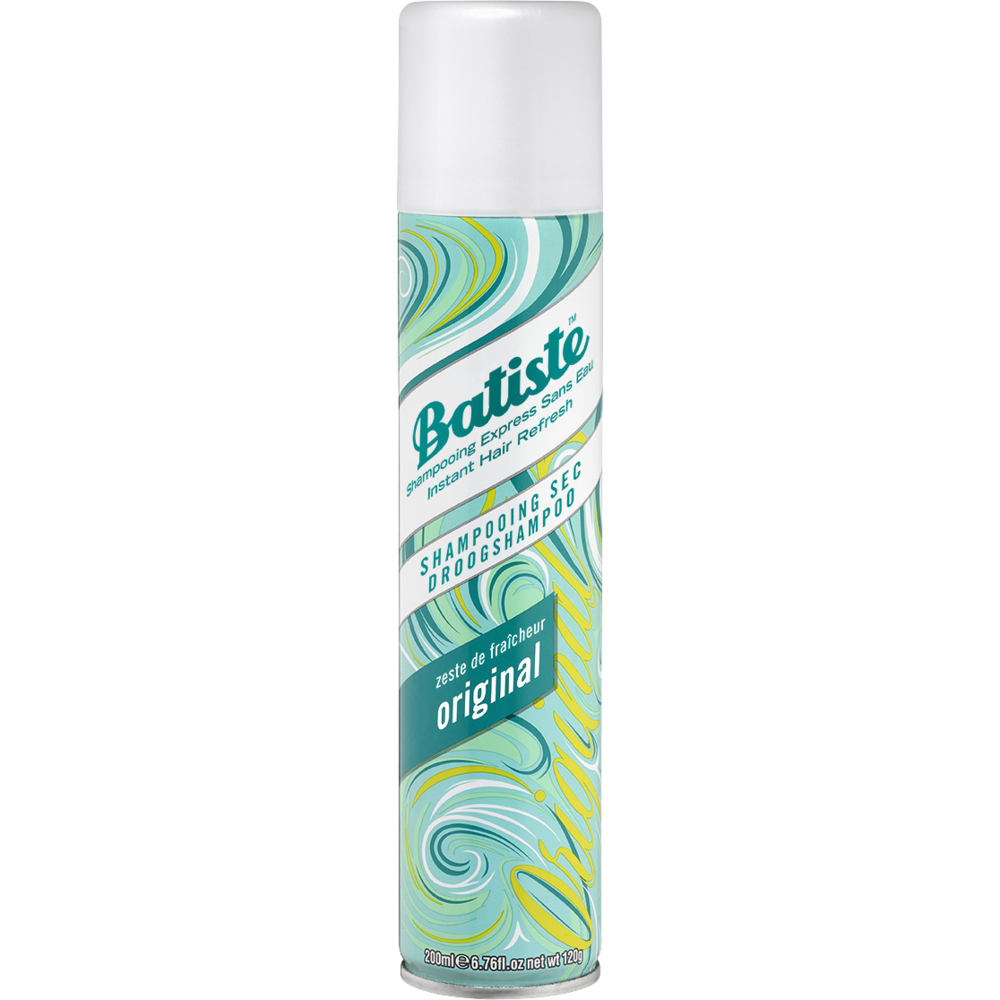 Shampoing sec spray original, Batiste (200 ml)