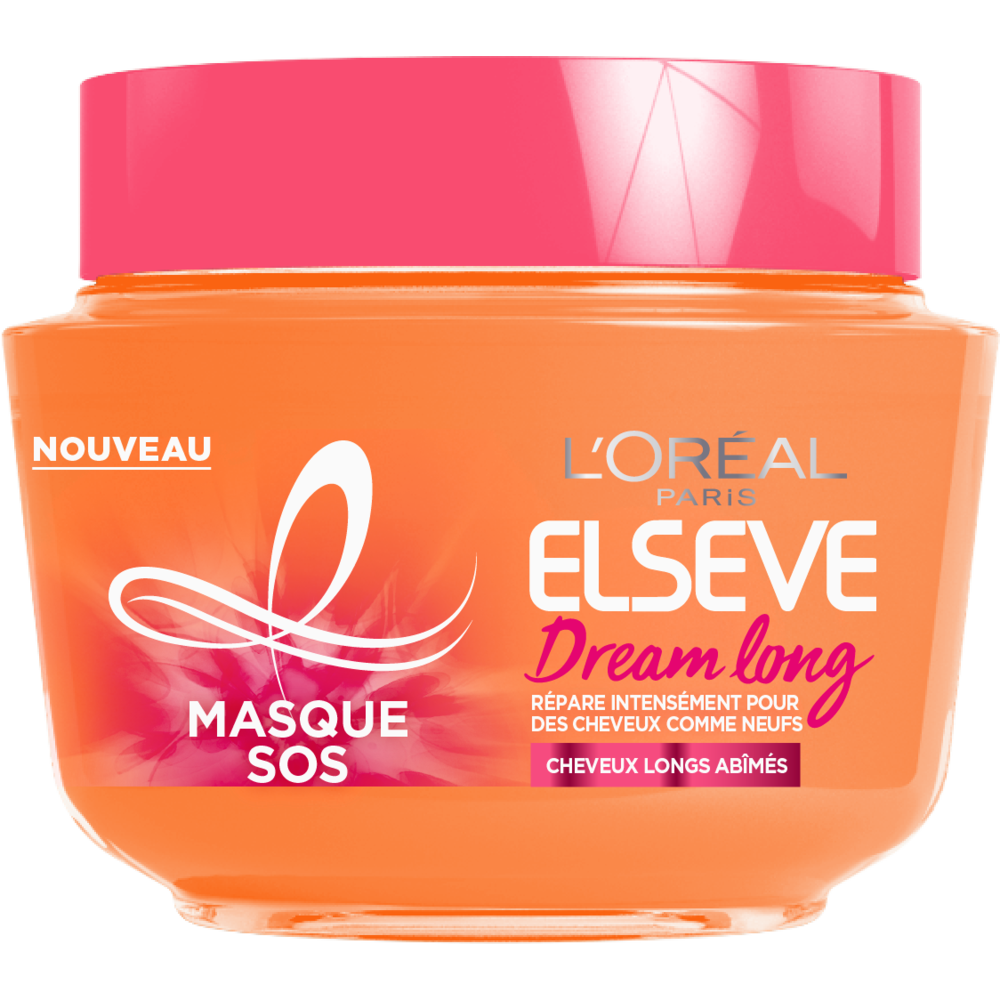 Masque SOS Dream Long/cheveux longs, Elsève (300 ml)