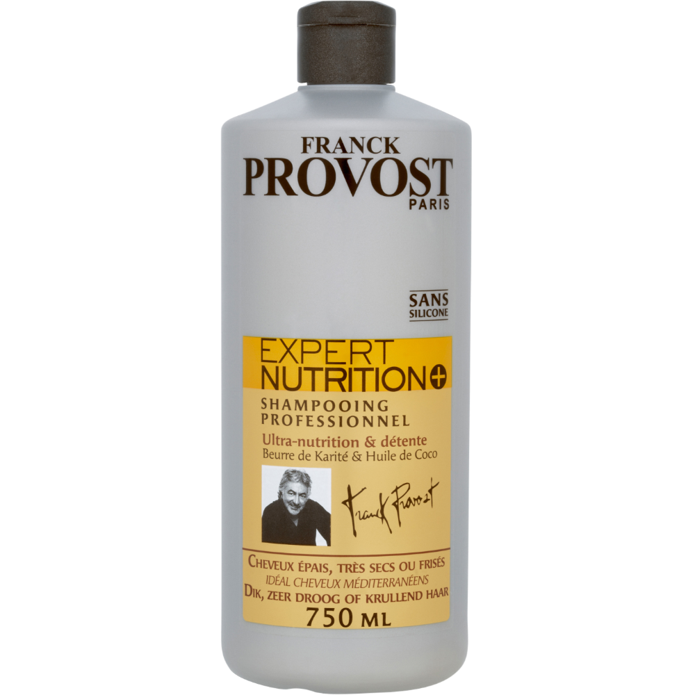 Shampooing expert nutrition +, Franck Provost (750 ml)