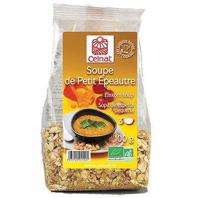 Soupe de petit épeautre BIO, Celnat (100 g)