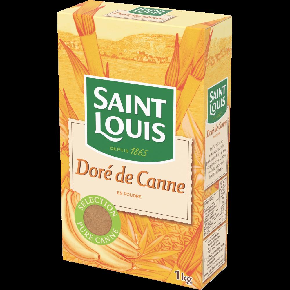 Sucre de canne doré, St Louis (1 kg)