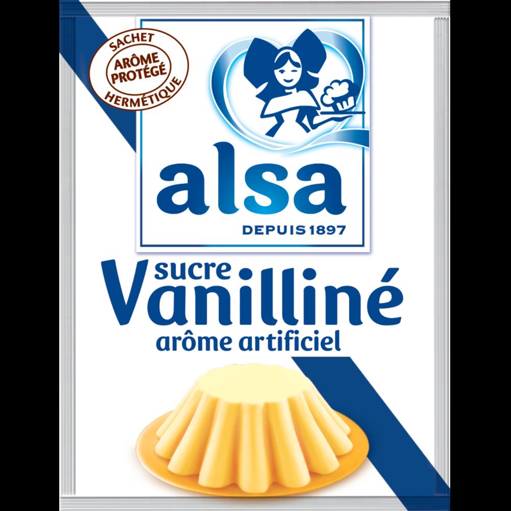 Sucre vanilliné, Alsa (x 10, 90 g)