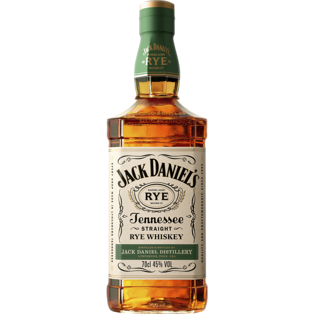 Tennessee Whiskey Rye, Jack Daniel's (70 cl)