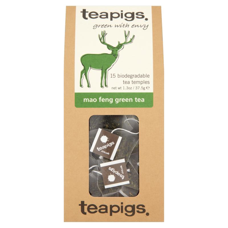 Thé vert Mao Feng, Teapigs (x 15 sachets)
