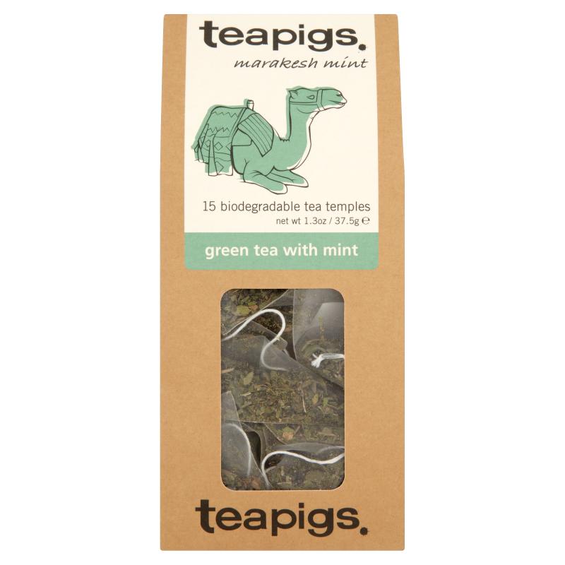 Thé vert à la menthe, Teapigs (x 15 sachets)