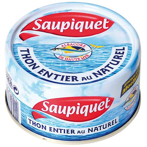 Thon Naturel, Saupiquet (133 g)
