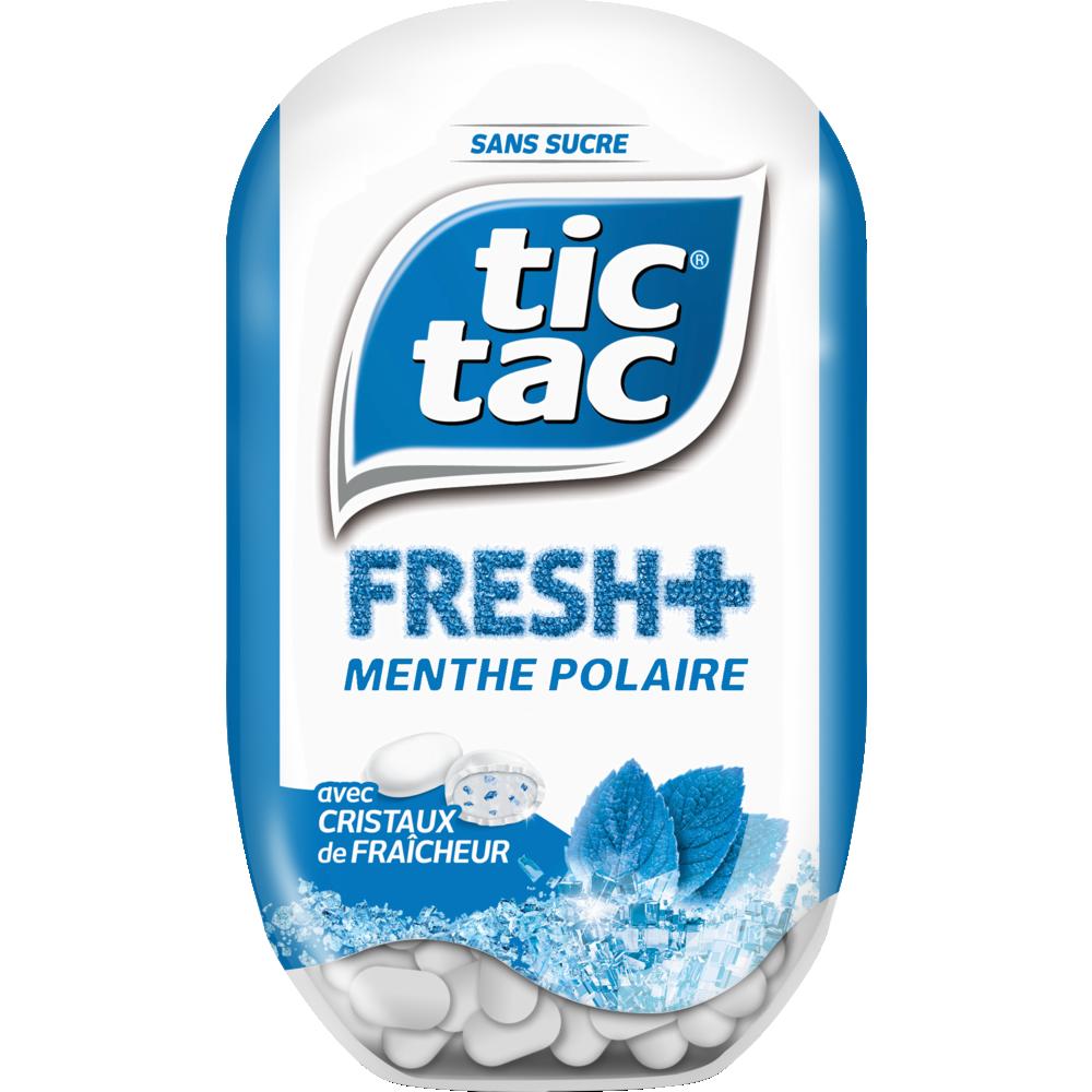 Tic Tac Fresh+ Menthe polaire (x 60)