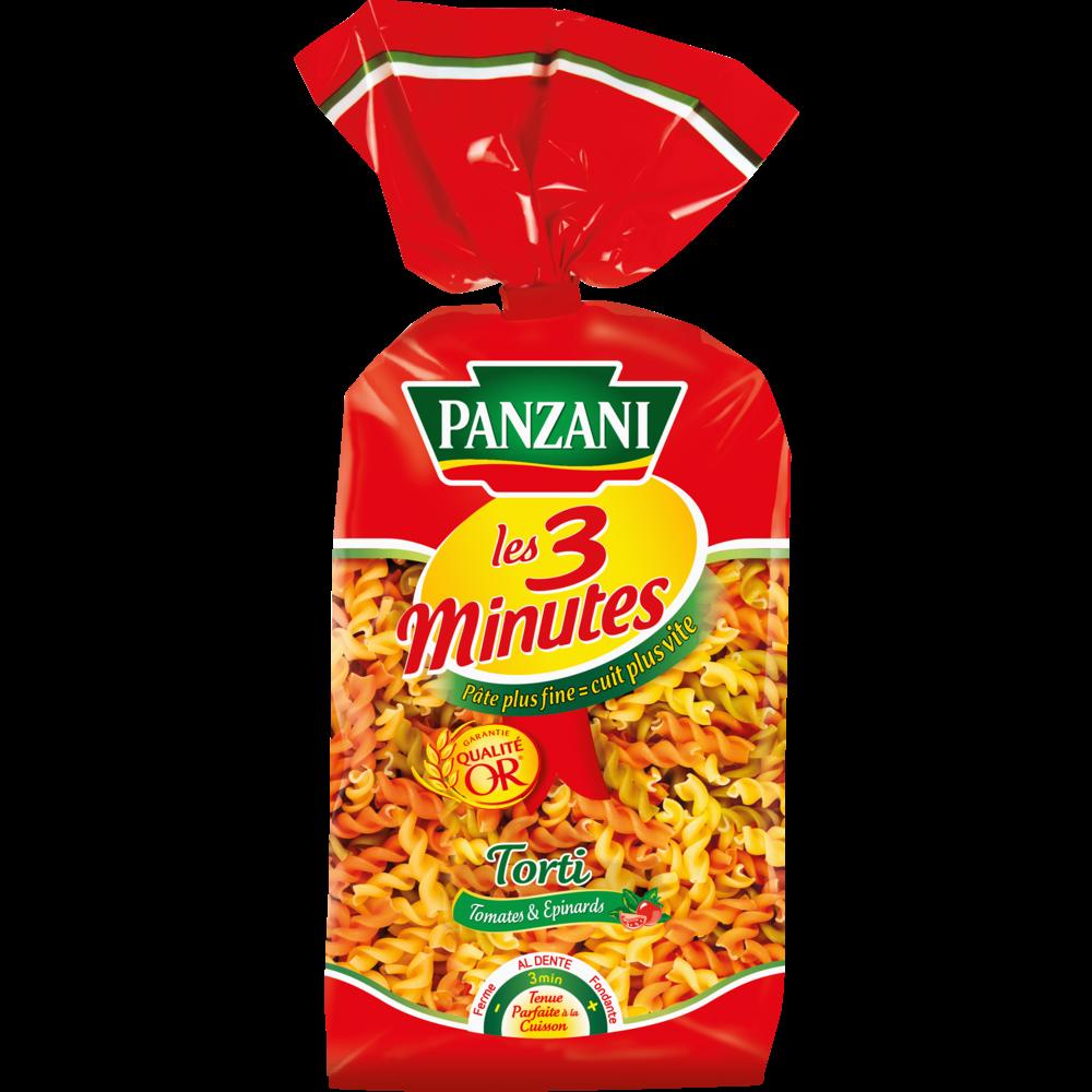 Torti légumes cuisson rapide, Panzani (500 g)