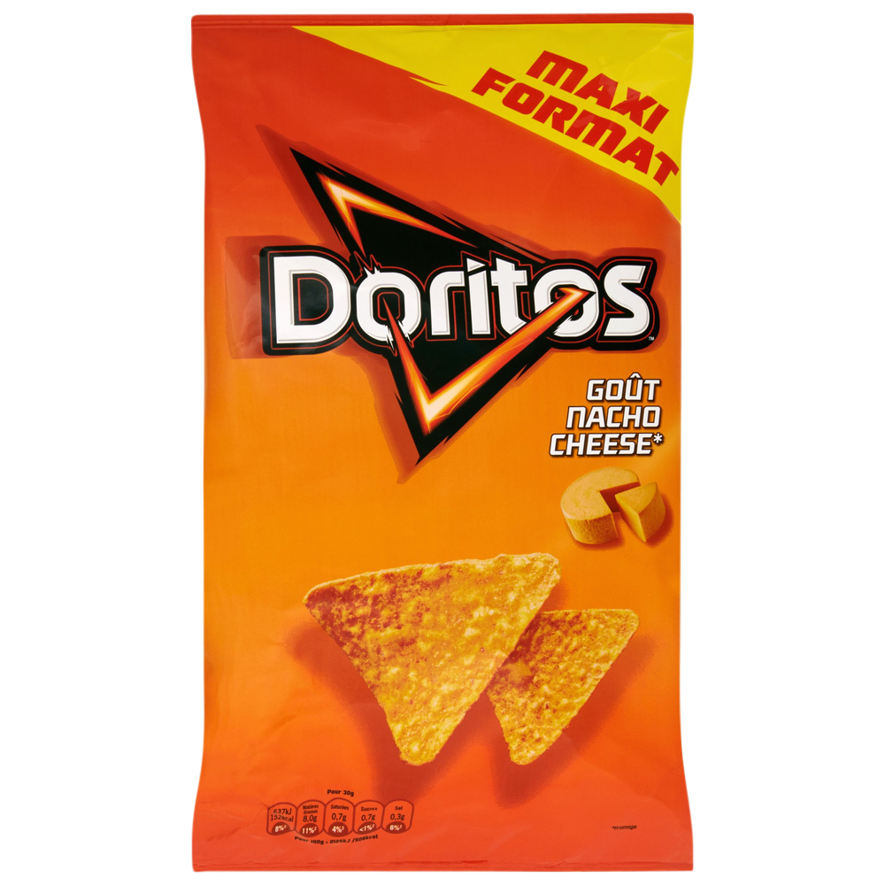 Tortilla goût nacho cheese, Doritos (230 g)
