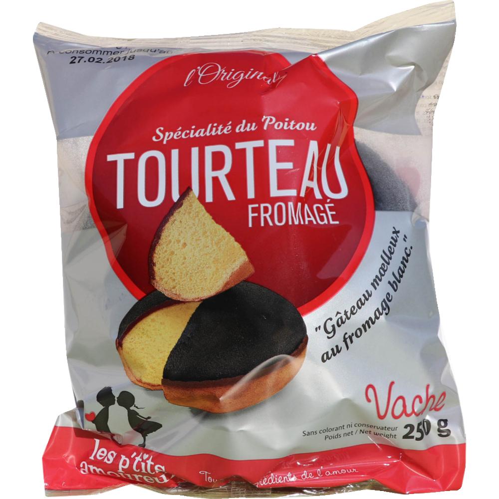 Tourteau fromagé pasteurisé l'Original vache, Les P'tits Amoureux (250 g)