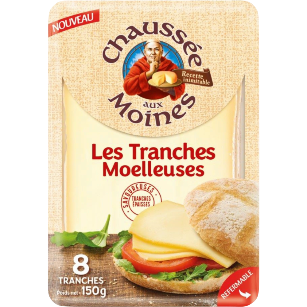 Tranches moelleuses, Chaussée aux Moines (x 8, 150 g)