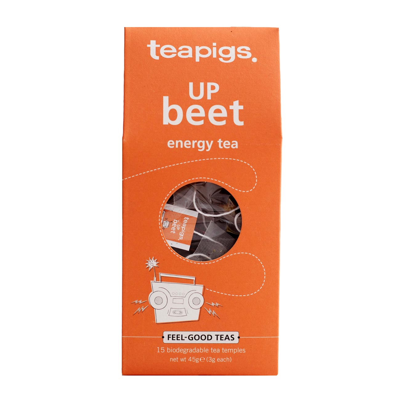Infusion Up Beet, Teapigs (x 15 sachets)