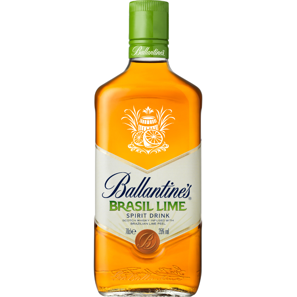Whisky Brasil lime, Ballantine's (70 cl)