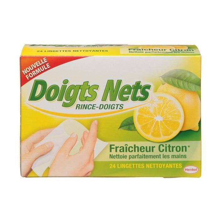 Rince doigts citron, Henkel (x 24)