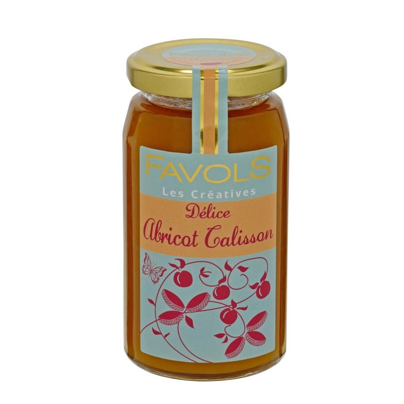 Confiture abricot calisson Favols (260 g)