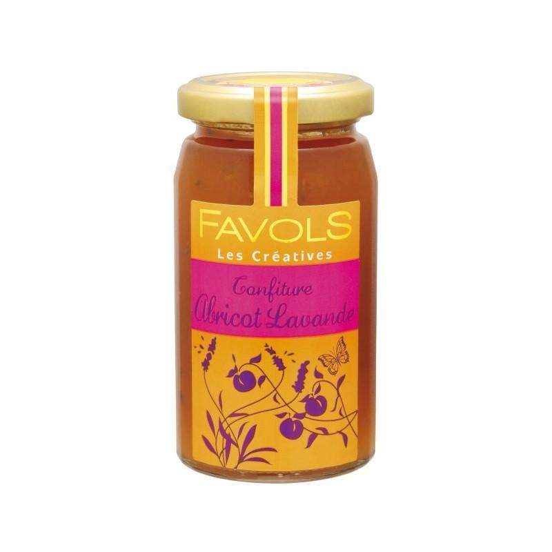 Confiture abricot lavande, Favols (260 g)