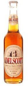 Adelscott bière ambrée au malt de whisky, 5,8° (33 cl)