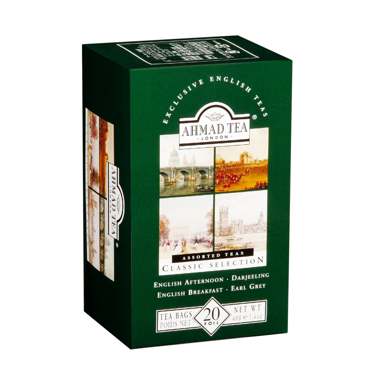 Thé Classic Selection, Ahmad Tea (x 20 sachets)