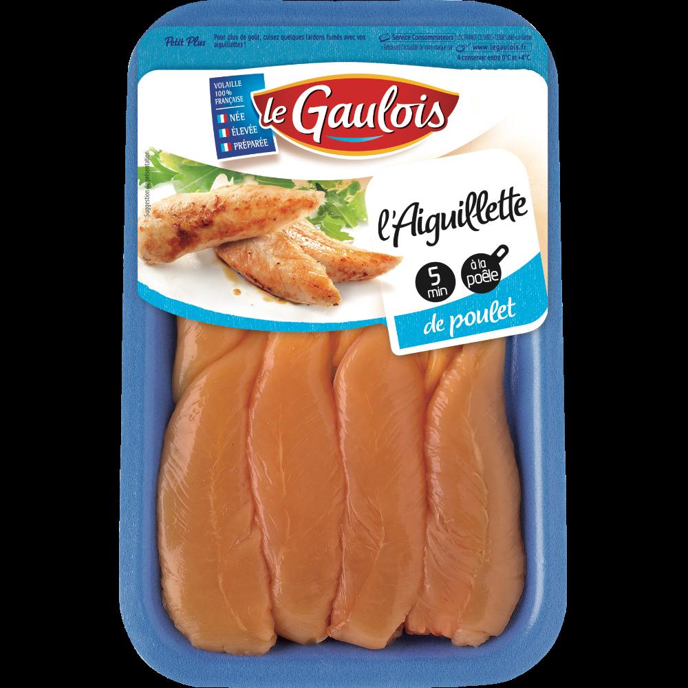Aiguillettes de poulet jaune, Le Gaulois (210 g)