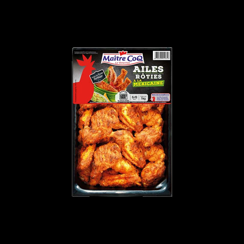 Ailes de poulet rôti à la mexicaine, Maître Coq (1 kg)