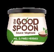 Sauce végétale Ail & Fines herbes, The Good Spoon (250 g)