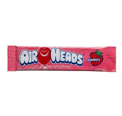 Bonbon goût fraise, Airheads (15.6 g)