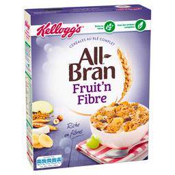 Céréales Fruit'n Fibre All Bran, Kelloggs (500 g)