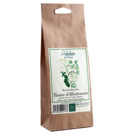 Tisane d'Allaitement BIO, Herbier de France (100 g)
