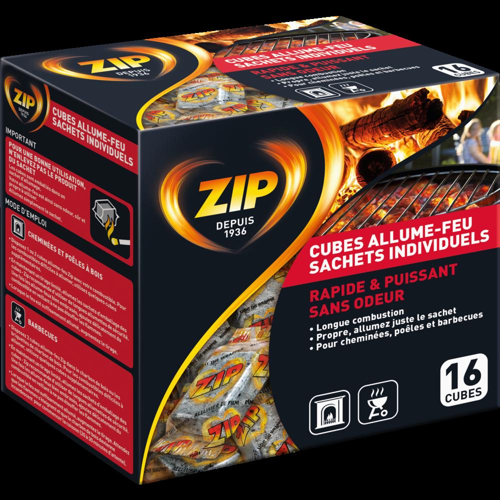 Allume-feu haute performance, Zip (x 16)