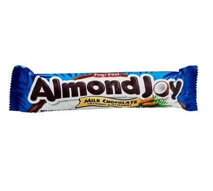 Barre chocolatée à la noix de coco, Almond Joy (45 g)