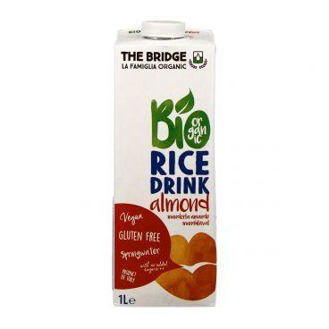 Boisson au riz saveur amande BIO, The Bridge La Famiglia Organic (1 L)