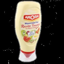 Mayonnaise fine recette fouettée, Amora (398 g)