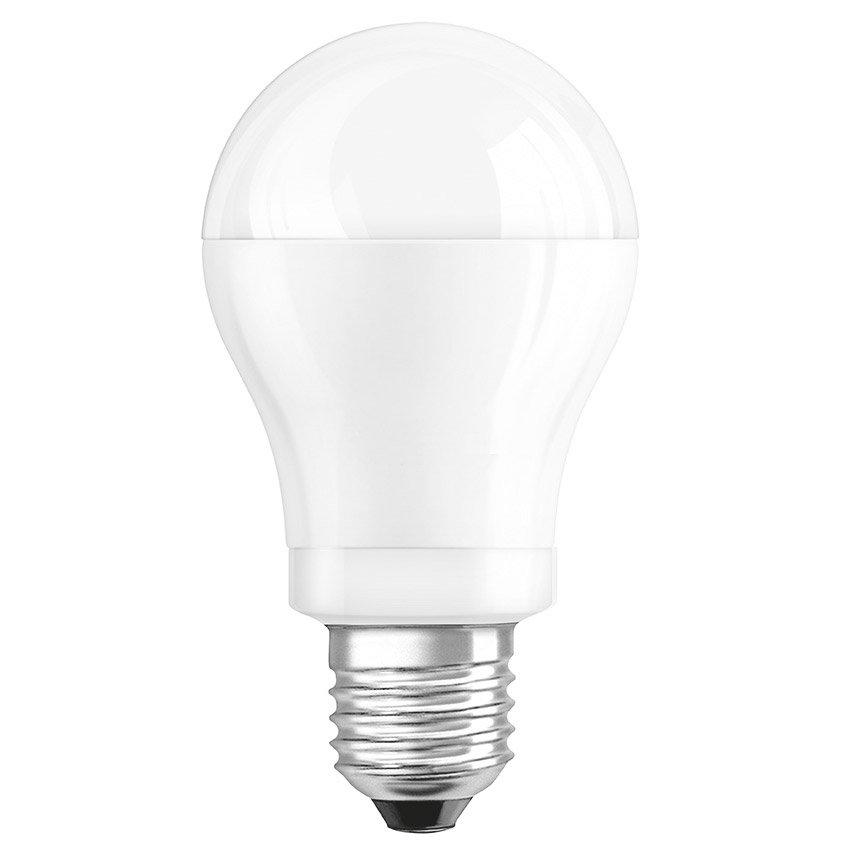 Ampoule Led standard, blanc chaud dépoli, 8W = 60W , culot E27, Osram (x 1)
