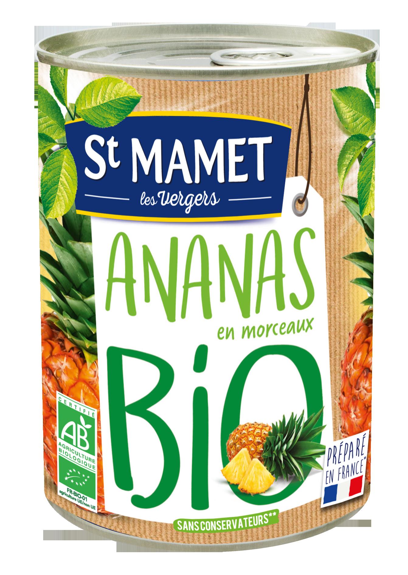 Ananas BIO, St Mamet (245 g)