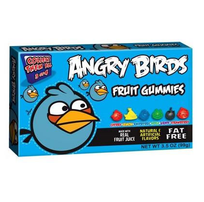 Bonbons oiseau bleu, Angry Birds (100 g)